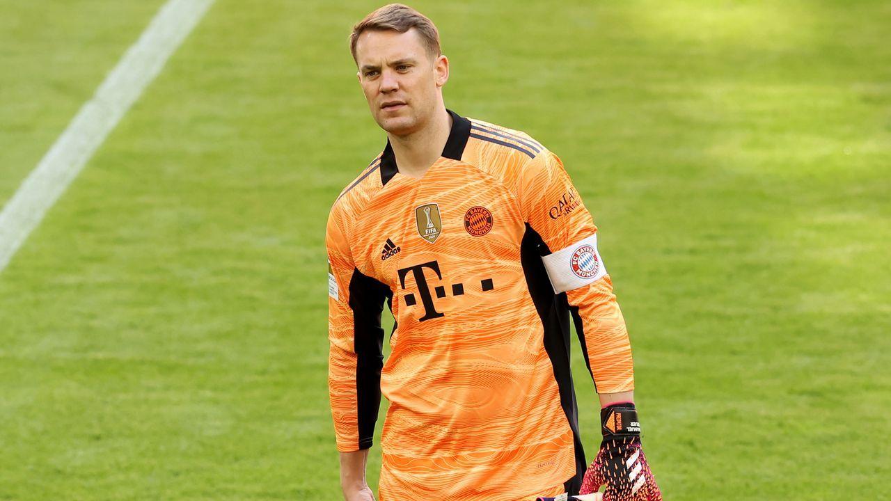 FC Bayern München: Manuel Neuer - Bildquelle: 2021 Getty Images