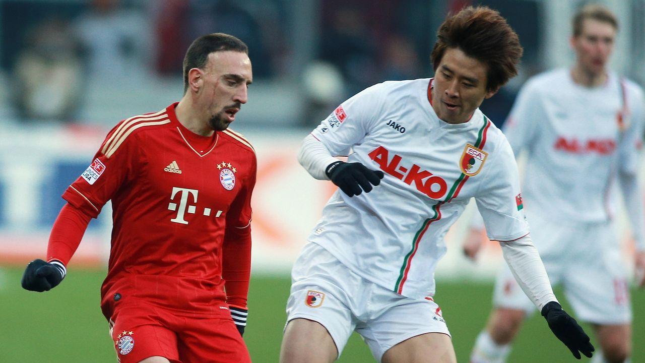 Ribery gegen Koo (2012) - Bildquelle: 2012 Getty Images