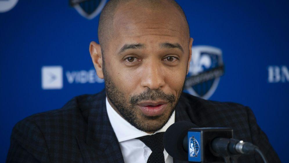 Thierry Henry wird als Chefcoach in Montreal vorgestellt - Bildquelle: AFPAFPSebastien ST-JEAN