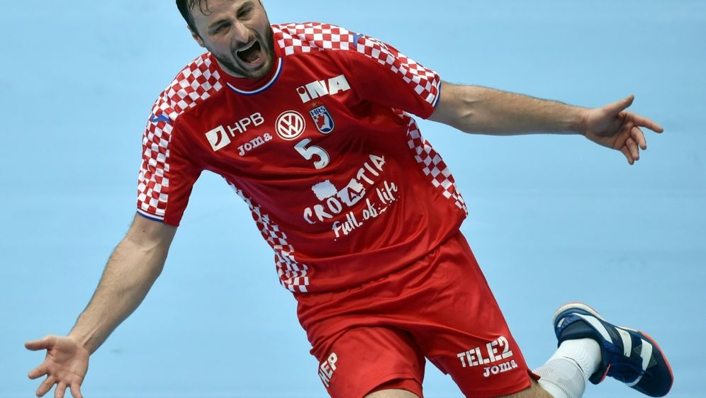 Domagoj Duvnjak steuerte sechs Tore zum Sieg bei - Bildquelle: AFPSIDChristof STACHE