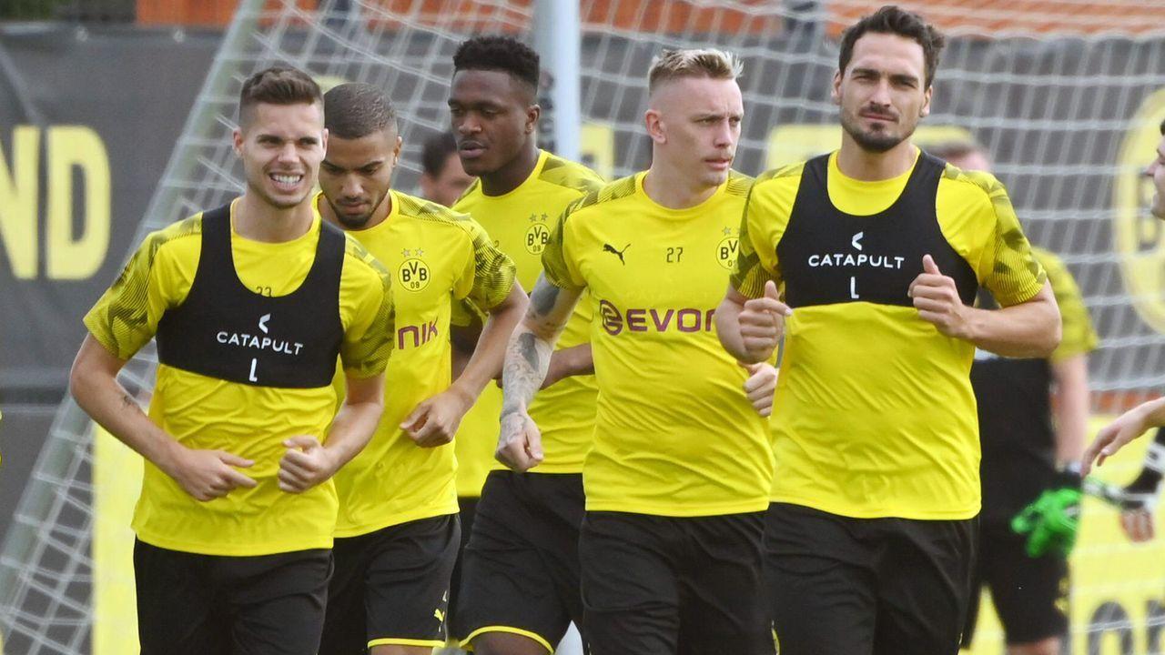 Trainingsauftakt bei Borussia Dortmund - Bildquelle: imago images / Team 2