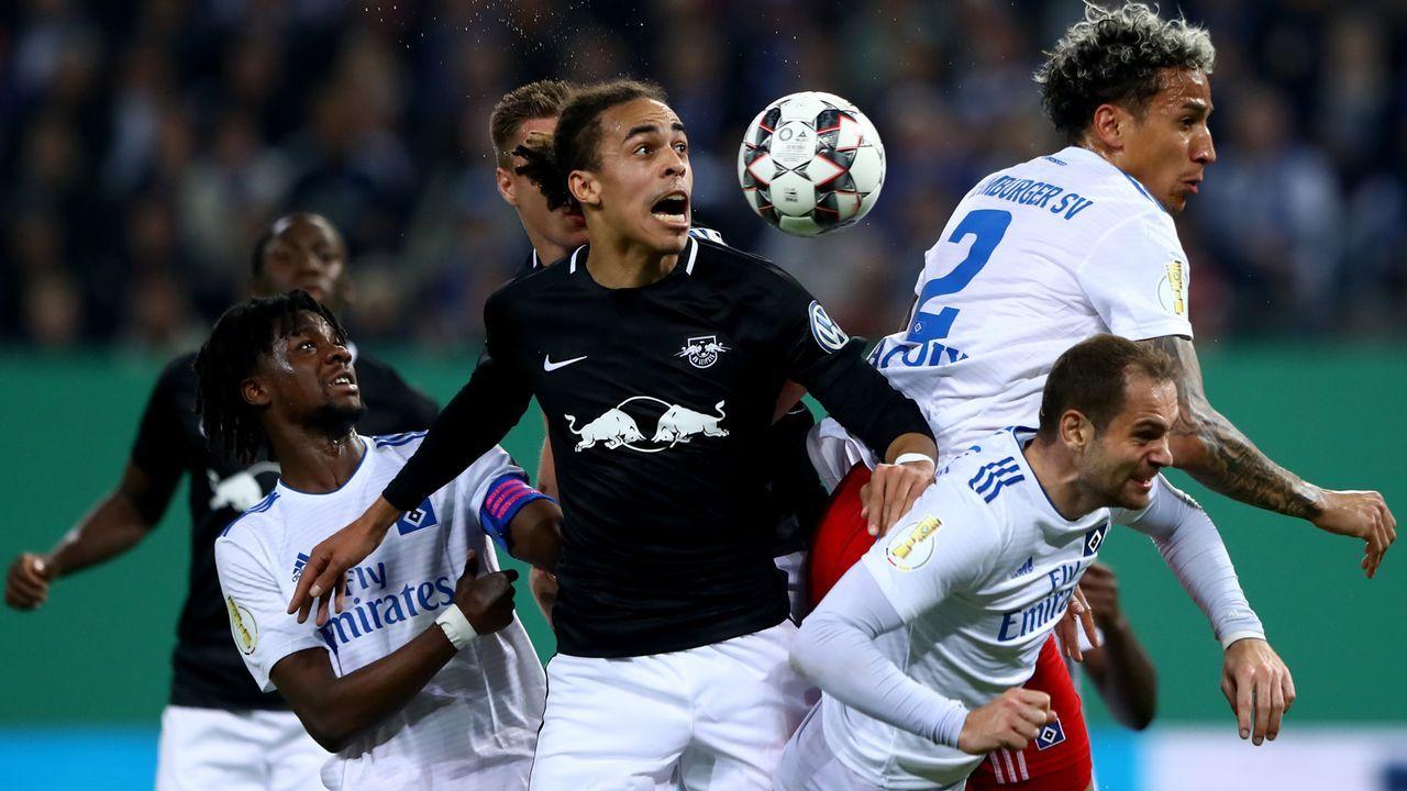 Pokalwahnsinn! Die Spieler vom HSV und RB Leipzig in der Einzelkritik - Bildquelle: Getty Images