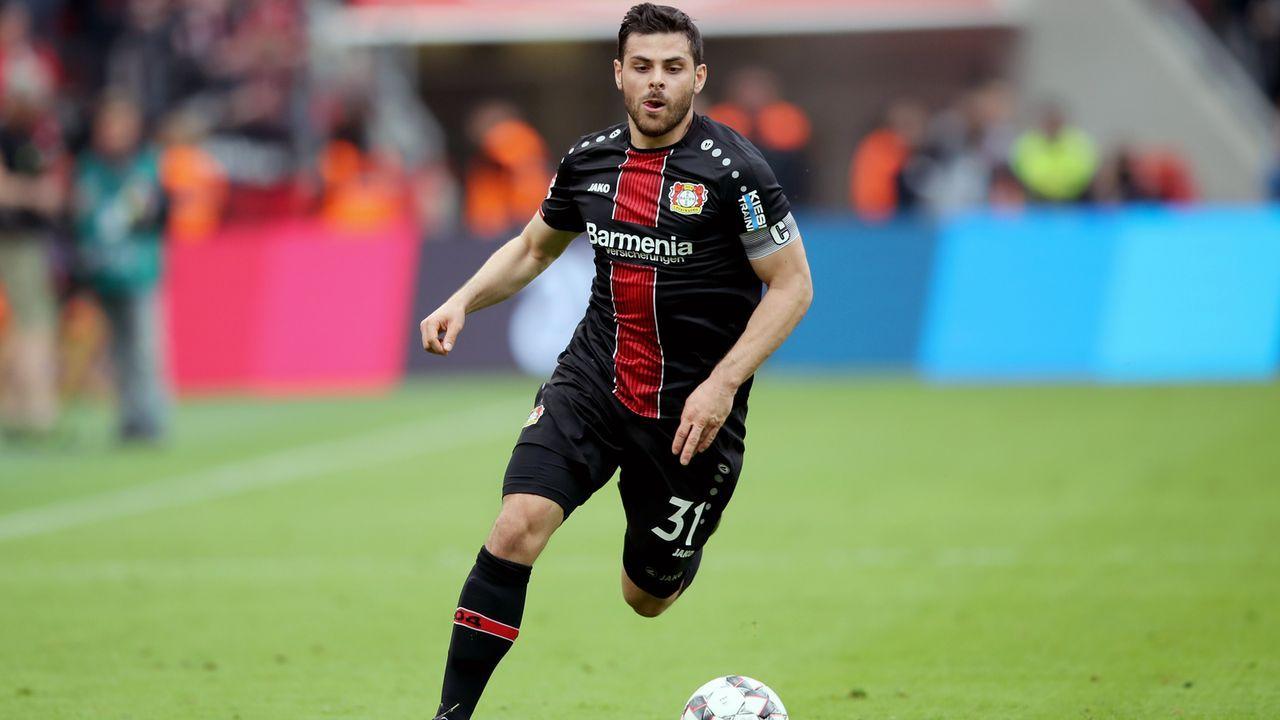 Platz 7 - Kevin Volland (Bayer Leverkusen) - Bildquelle: 2019 Getty Images