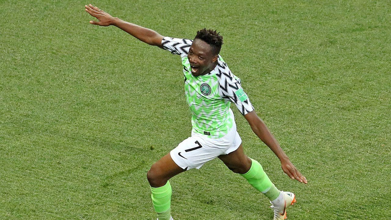 Ahmed Musa (Nigeria) - Bildquelle: 2018 Getty Images