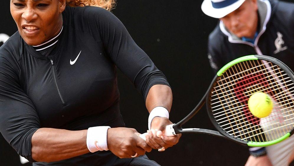 Williams gewinnt ihr Match gegen Rebecca Peterson - Bildquelle: AFPSIDAndreas SOLARO
