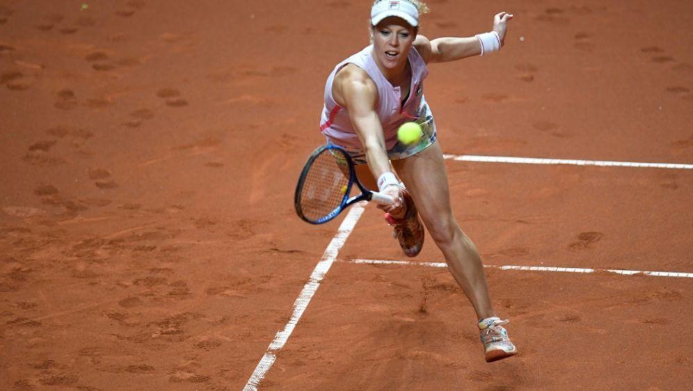 Laura Siegemund beim WTA-Turnier in Rom ausgeschieden - Bildquelle: POOLPOOLSIDThomas KIENZLE
