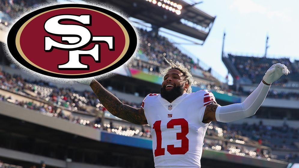Die San Francisco 49ers sollen eine Trade-Anfrage für Odell Beckham Jr. bei ... - Bildquelle: Getty Images