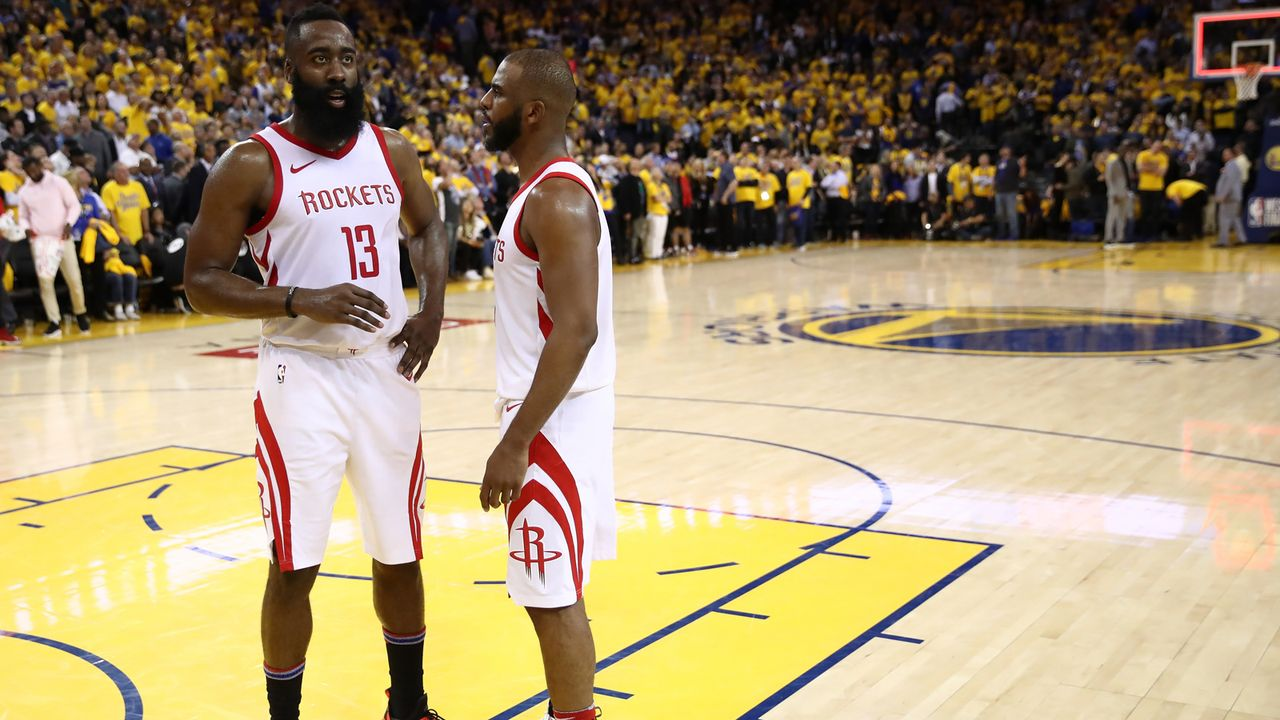 2. Platz im Westen: Houston Rockets - Bildquelle: 2018 Getty Images