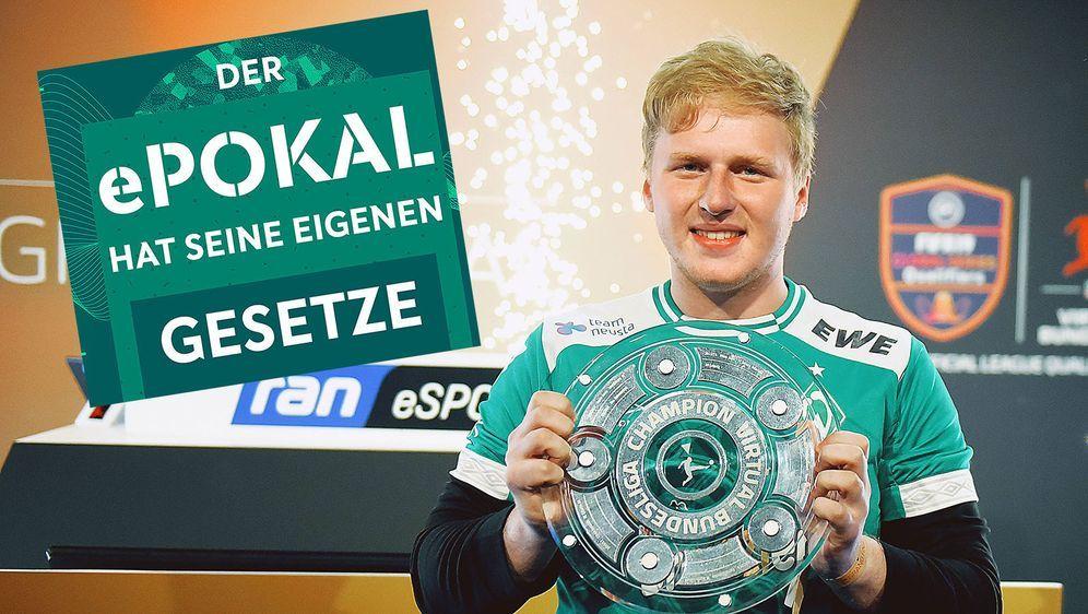 """Auch Michael """"Mega Bit"""" Bittner ist beim DFB e-Pokal mit von der Partie. - Bildquelle: imago images / Eibner/DFB"""