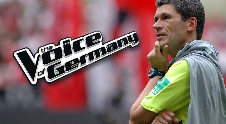 Dr. Markus Merk - The Voice of Germany - Bildquelle: imago sportfotodienst