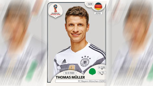 Thomas Müller (FC Bayern München) - Bildquelle: Panini