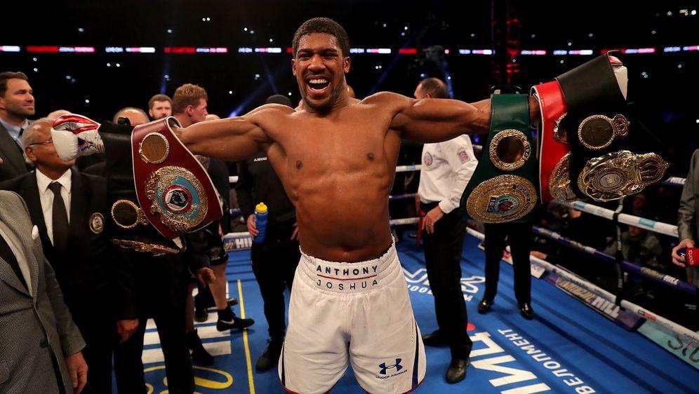 Anthony Joshua ist ehemaliger Weltmeister der VerbändeIBF, IBO, WBA und WBO - Bildquelle: Getty Images