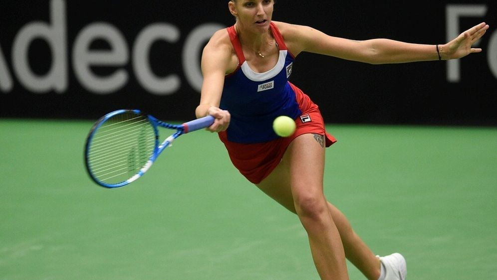 Pliskova gewann ihr Match souverän in zwei Sätzen - Bildquelle: AFPSIDMICHAL CIZEK