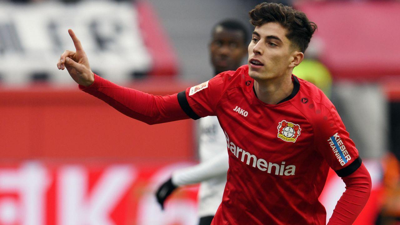 Havertz jüngster Bundesliga-Spieler mit 30 Toren - Bildquelle: imago images/Eibner