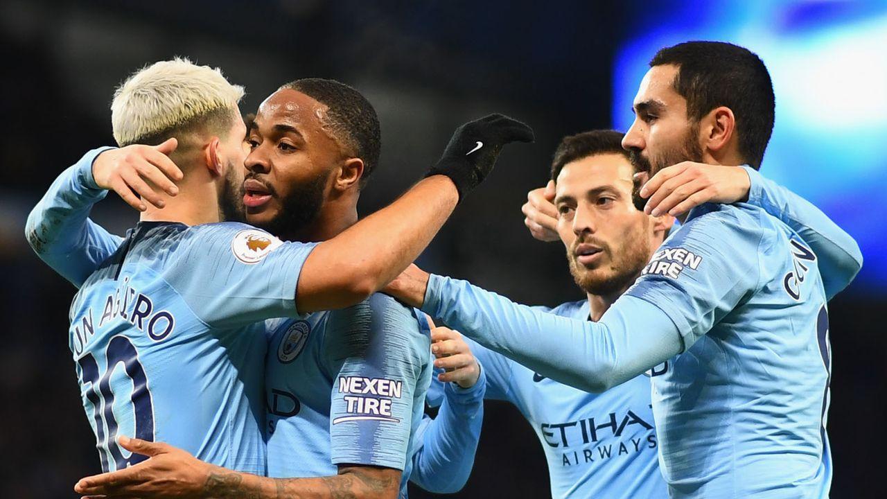 Platz 3: Manchester City - Bildquelle: 2019 Getty Images