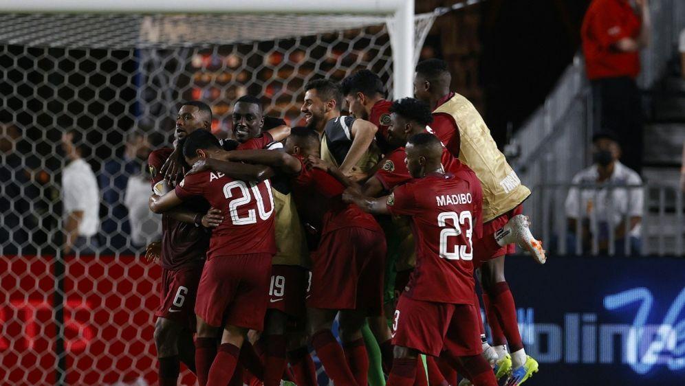 Katar komplettiert Viertelfinale - Bildquelle: AFPSIDAARON M. SPRECHER