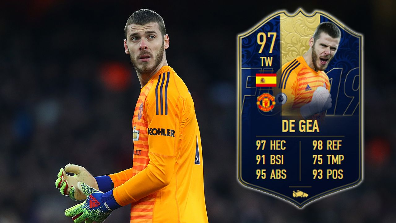 Tor: David de Gea - Bildquelle: 2019 Getty Images/EA Sports