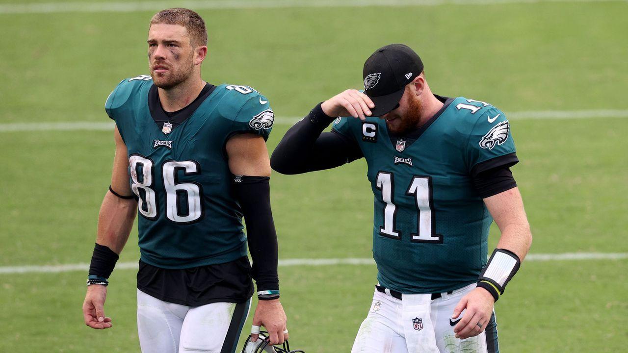 Platz 3: Philadelphia Eagles (0-2-1) - Bildquelle: 2020 Getty Images