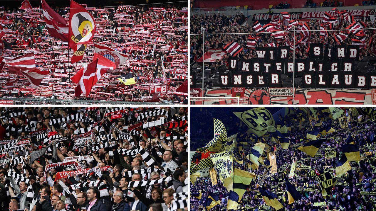 Die Auslastung der 18 Bundesligastadien - Bildquelle: Getty Images