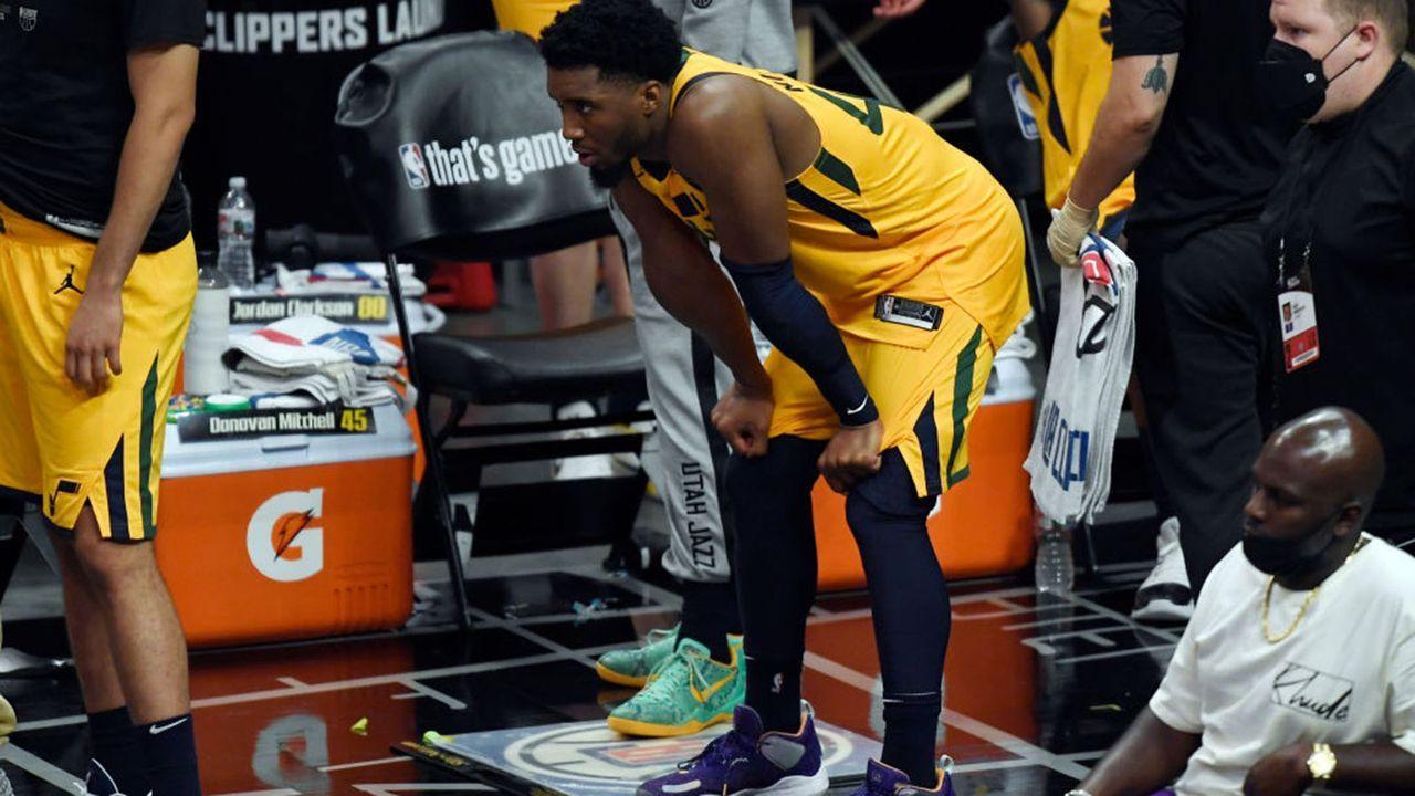 Donovan Mitchell (Utah Jazz) - Bildquelle: 2021 Getty Images