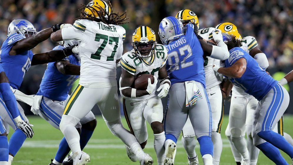 Die Packers setzen sich gegen die Detroit Lions durch - Bildquelle: Getty