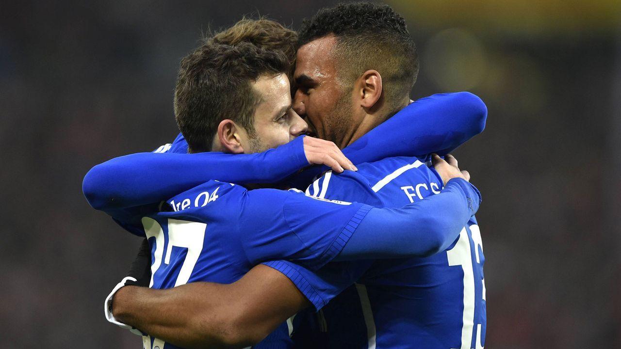 Tranquillo Barnetta und Eric-Maxim Choupo-Moting (FC Schalke 04) - Bildquelle: Imago Images