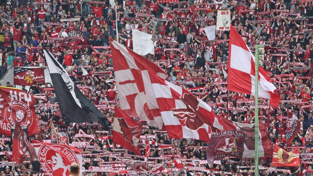 Platz 3: 1. FC Kaiserslautern  - Bildquelle: imago images / Jan Huebner