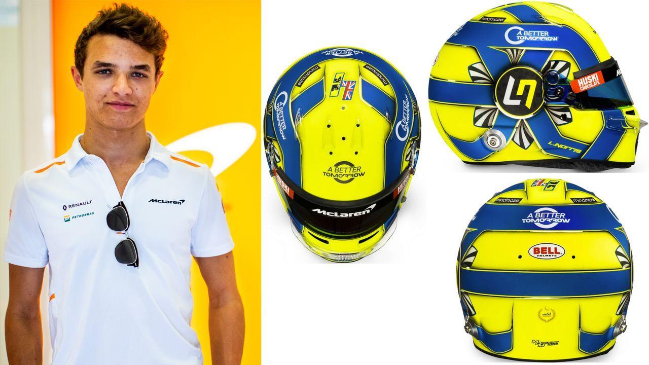 Lando Norris (McLaren F1) - Bildquelle: Twitter: McLaren F1