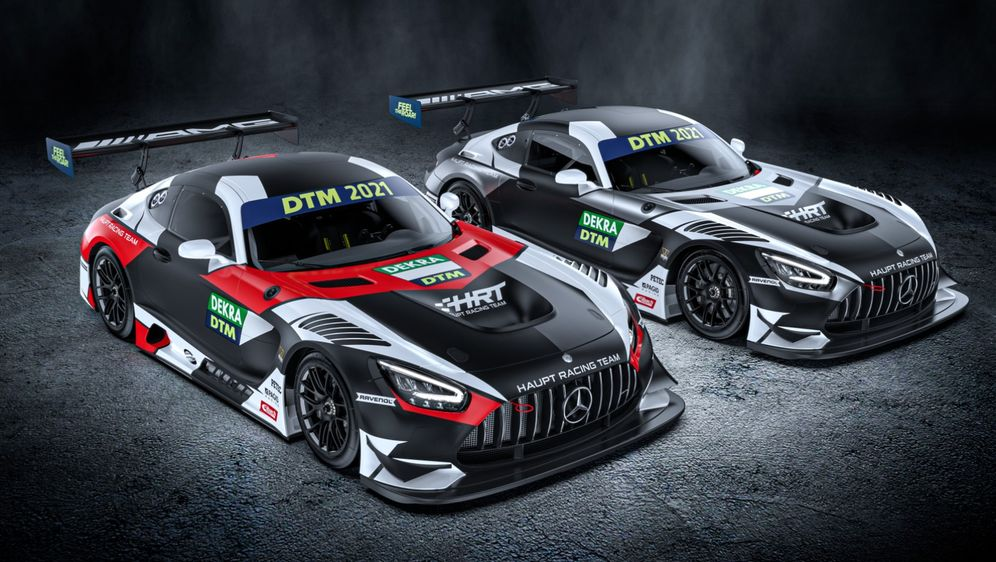 Das HRT-Team hat bereits die Designs für die DTM-Saison veröffentlicht. - Bildquelle: HRT