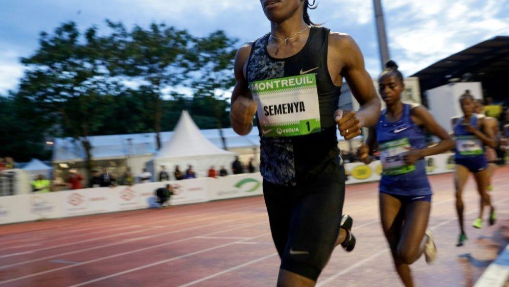 Testosteron-Regel gilt nicht für Olympiasiegerin Semenya - Bildquelle: AFPSIDGeoffroy VAN DER HASSELT