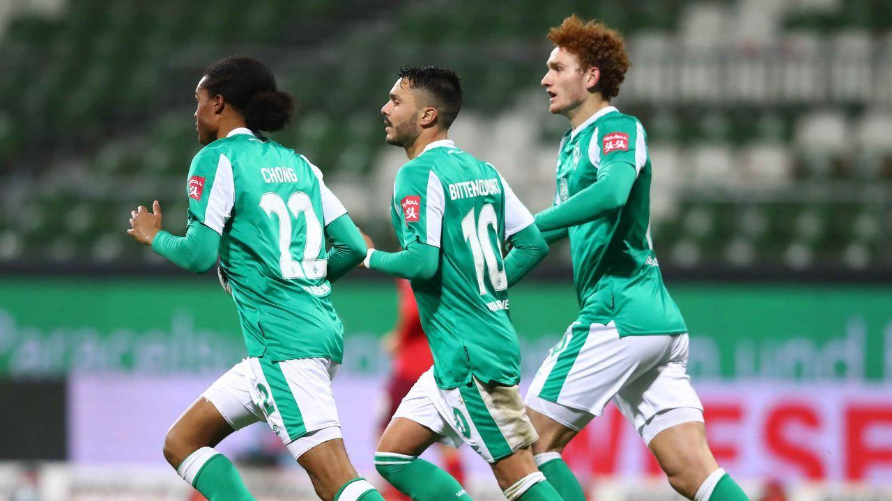 Platz 4: Werder Bremen - Durchschnittlicher Tabellenplatz der Gegner: 6,3  - Bildquelle: getty