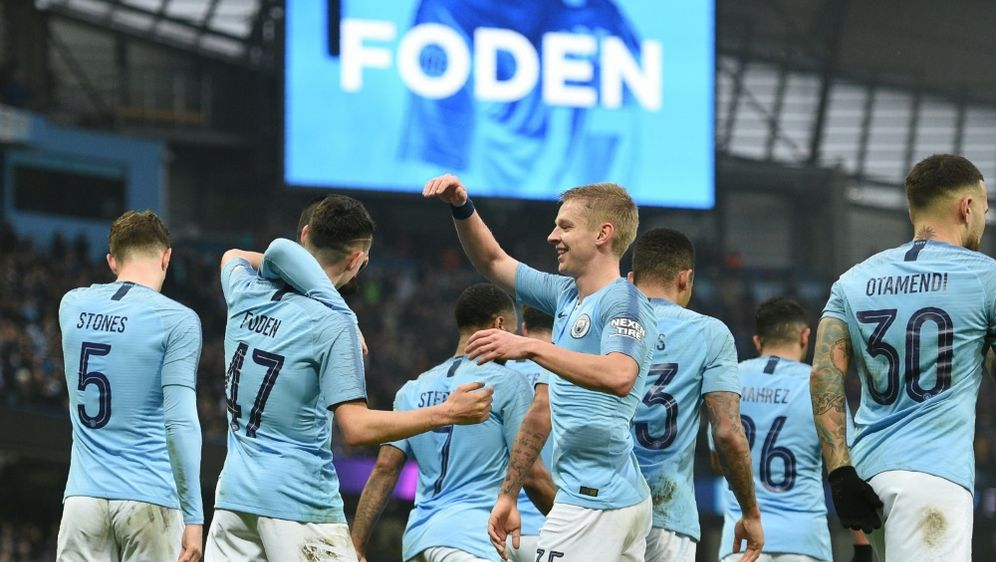 Manchester City zieht mühelos in die nächste Runde ein - Bildquelle: AFPSIDOLI SCARFF