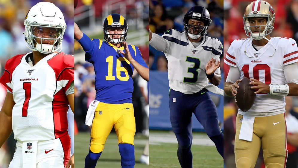Wer holt sich den Titel in der NFC West?