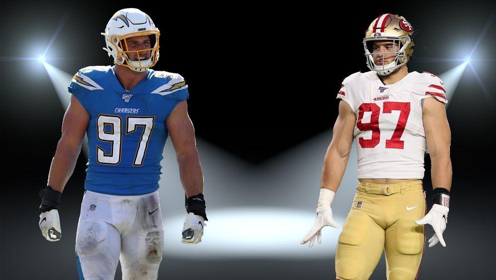 Stehen im Rampenlicht der NFL: Joey und Nick Bosa - Bildquelle: Getty Images