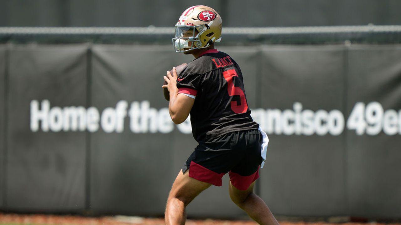 Platz 8: Trey Lance (Quarterback, San Francisco 49ers)  - Bildquelle: 2021 Getty Images