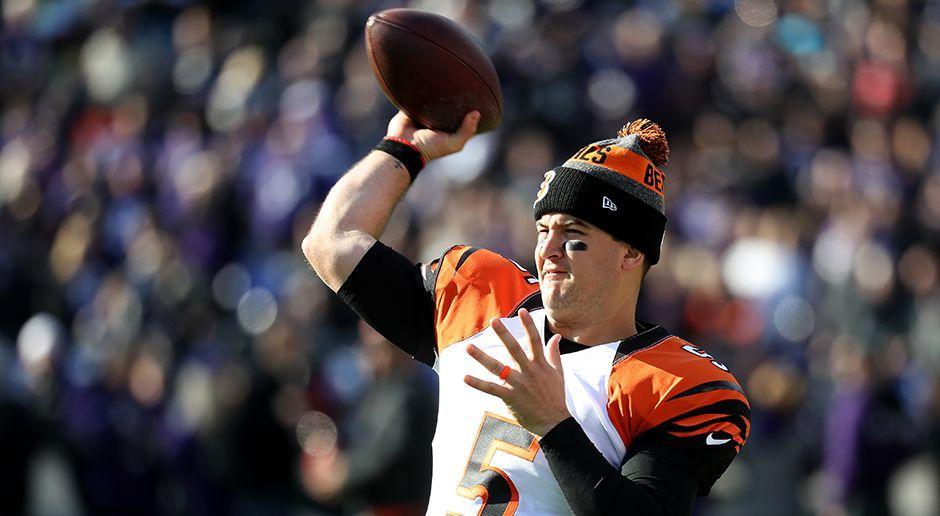 Platz 8: Cincinnati Bengals - AJ McCarron - Bildquelle: 2016 Getty Images