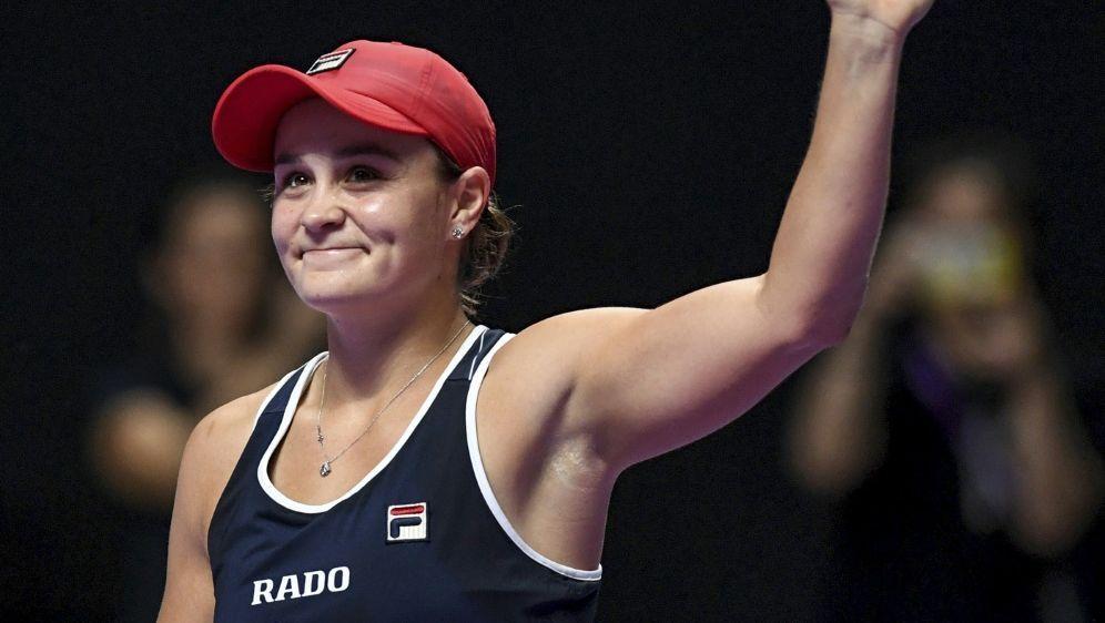 Barty ist zur Tennisspielerin des Jahres gewählt worden - Bildquelle: AFPSIDNOEL CELIS