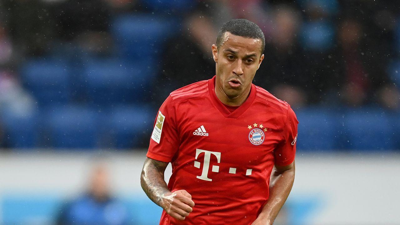 FC Bayern: Thiago (61. Minute)