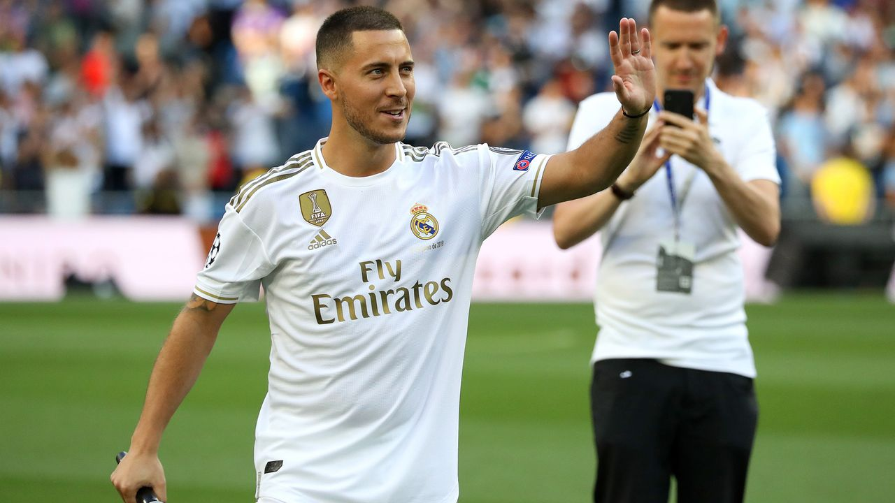 Platz 3 - Eden Hazard - Bildquelle: 2019 Getty Images