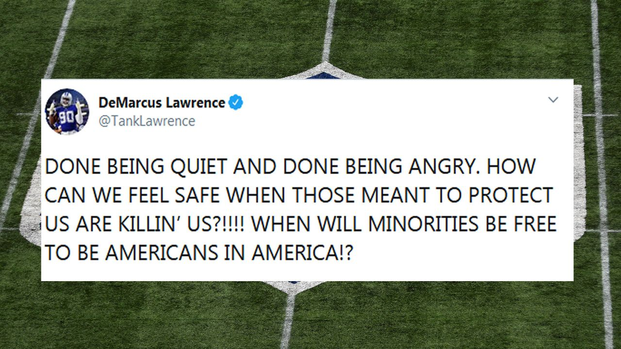 DeMarcus Lawrence - Bildquelle: Twitter/@TankLawrence