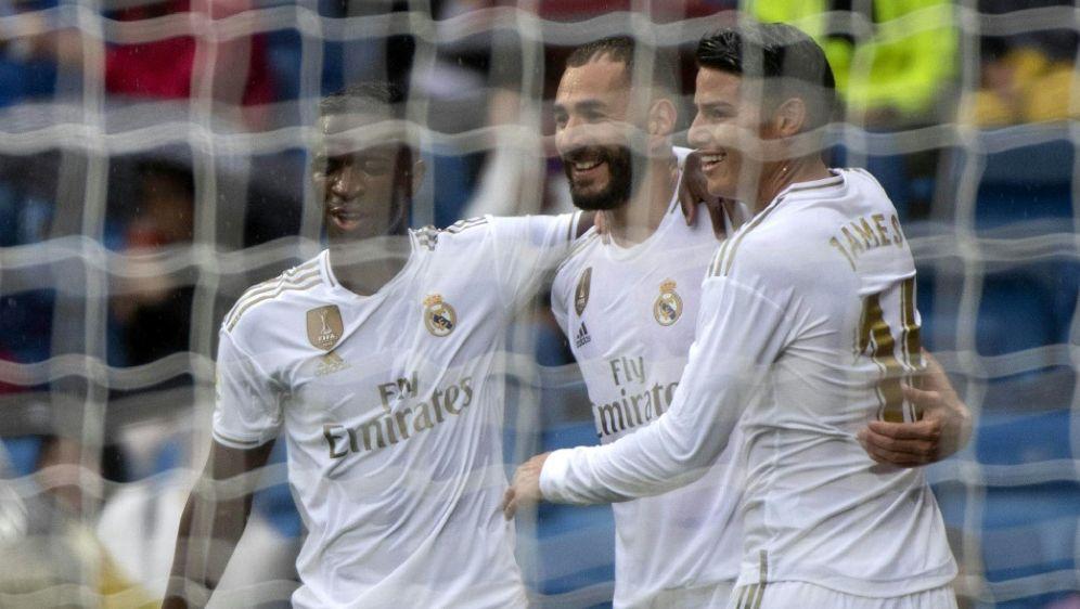 Real Madrid bezwingt UD Levante 3:2 - Bildquelle: AFPSIDCURTO DE LA TORRE