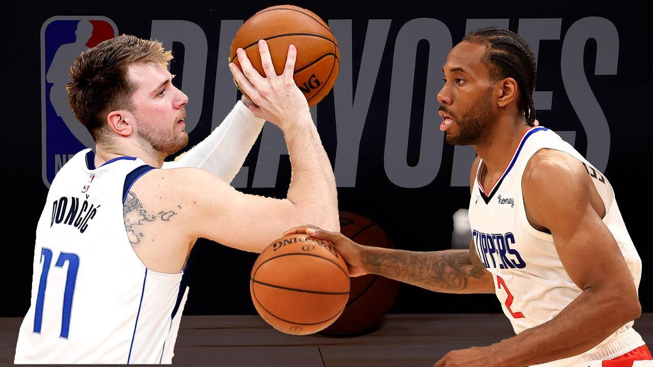 Dallas Mavericks (5) vs. Los Angeles Clippers (4) - Bildquelle: 2020 Getty Images