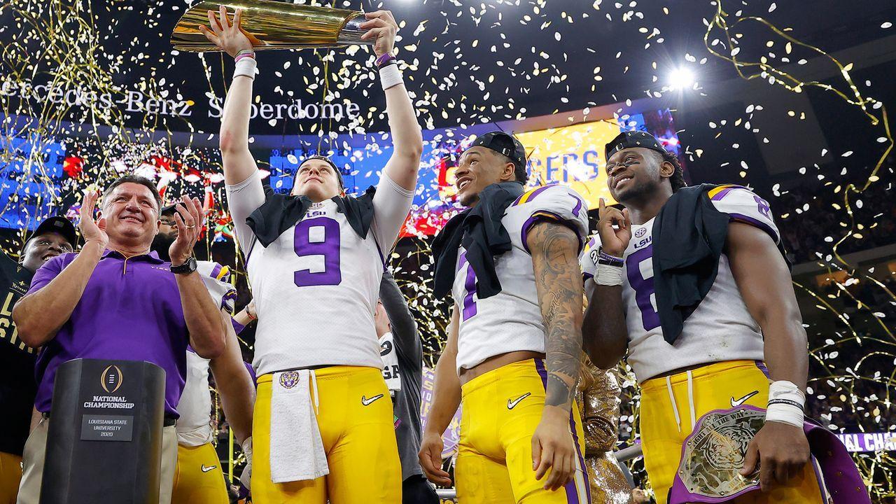 Diese LSU-Talente können den NFL Draft 2020 aufmischen - Bildquelle: 2020 Getty Images