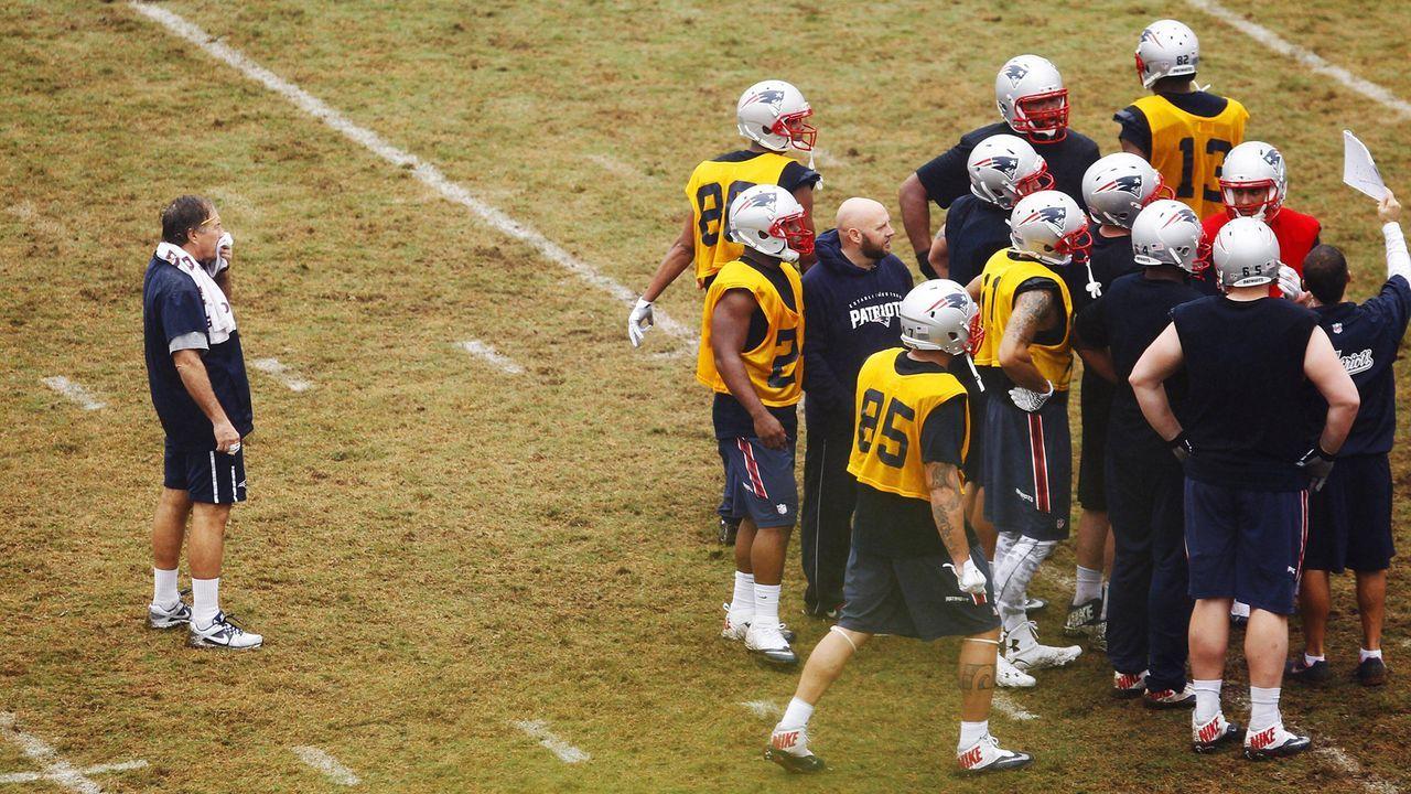 Der Practice Squad der New England Patriots - Bildquelle: imago/ZUMA Press