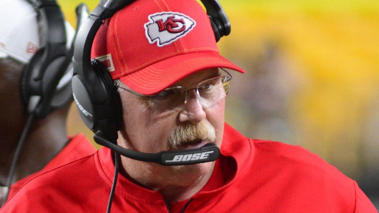 29. Andy Reid (Kansas City Chiefs)                                 - Bildquelle: imago images / UPI Photo