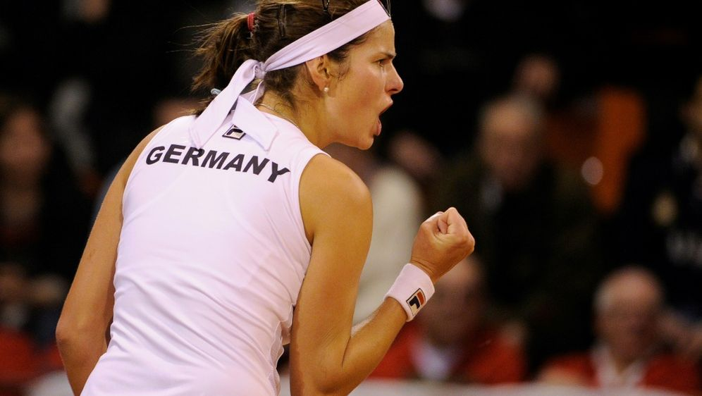 Julia Görges führt das deutsche Fed-Cup-Team an - Bildquelle: PIXATHLONPIXATHLONSID