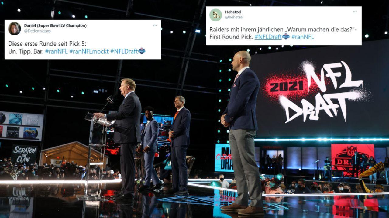 Die Netzreaktionen zur 1. Runde des NFL Drafts 2021 - Bildquelle: Getty