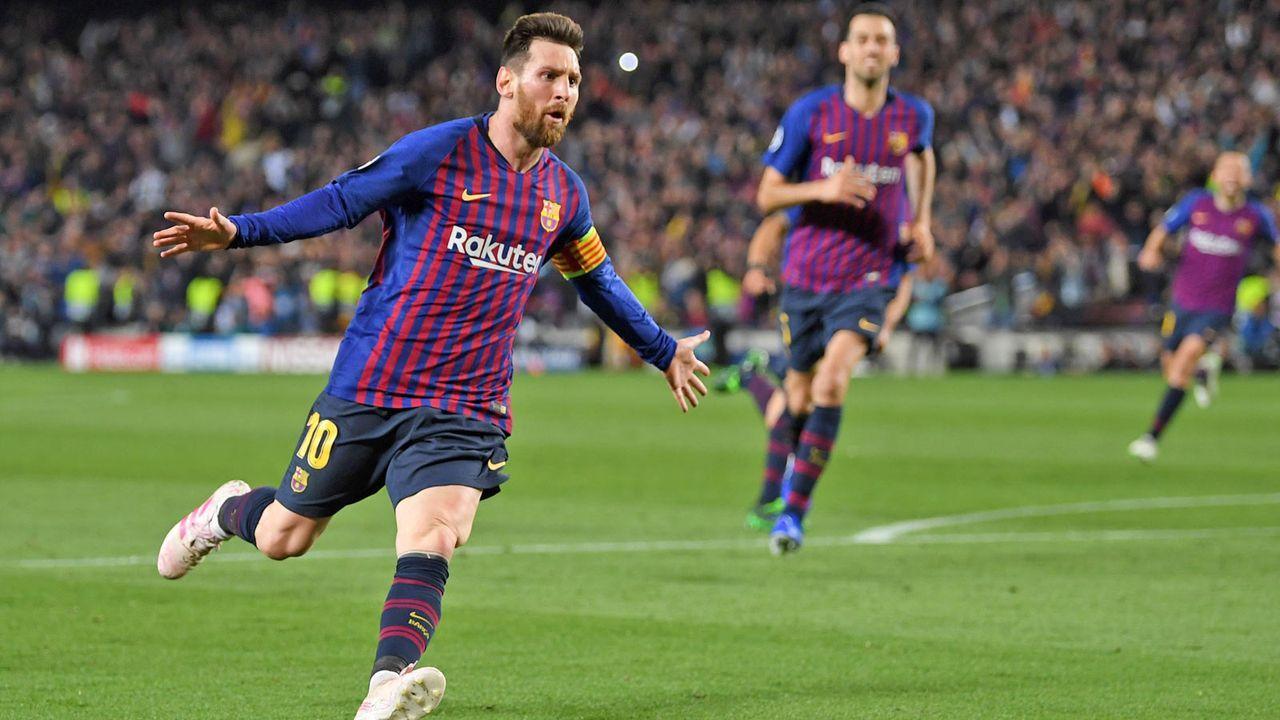 Riesenjubel bei Messi unc Co. - Bildquelle: Getty