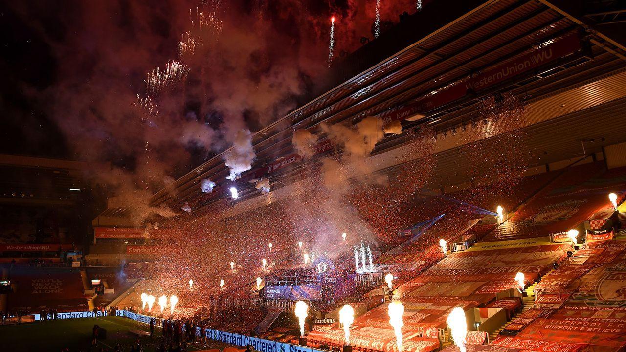 Feuer auf der Tribüne - Bildquelle: Getty Images
