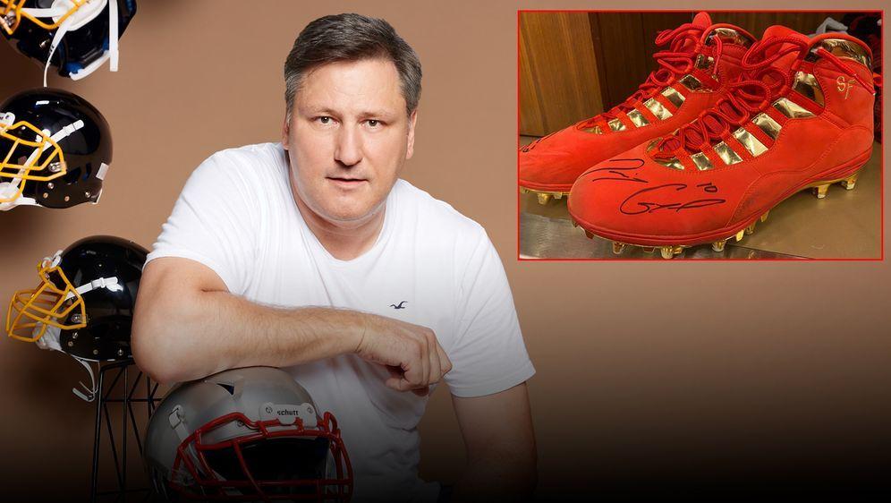 Für einen guten Zweck: Ersteigert signierte Schuhe von Jimmy Garoppolo! - Bildquelle: ran